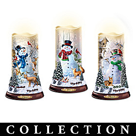 Flurries Of Light Candle Collection