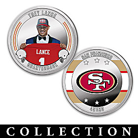 The San Francisco 49ers Proof Coin Collection