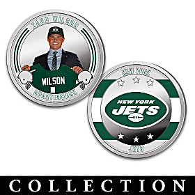 The New York Jets Proof Coin Collection