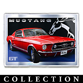 Ford Mustang Untamed American Spirit Wall Decor Collection