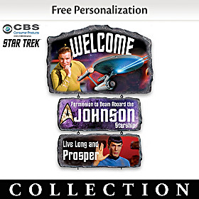 STAR TREK Personalized Welcome Sign Collection