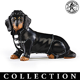 Elvis Paw-esley Dachshund Figurine Collection