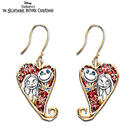 Disney Tim Burton's The Nightmare Before Christmas Earrings