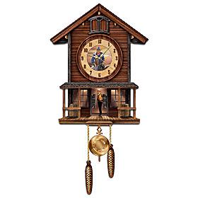 John Wayne: American Icon Cuckoo Clock