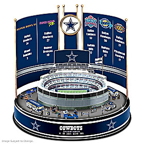 Dallas Cowboys Super Bowl Champions Carousel