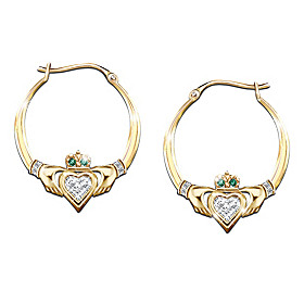Blessings Of The Emerald Isle Earrings