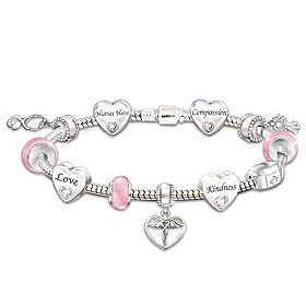 A Nurse's Heart Bracelet