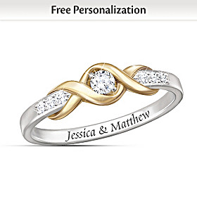 Infinite Love Personalized Diamond Ring