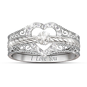 I Love You Diamond Ring