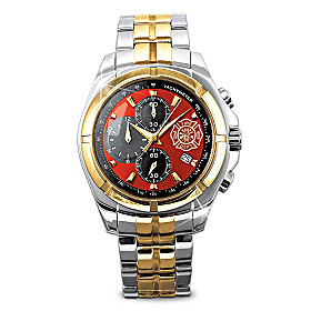 For My Firefighter Men's Watch