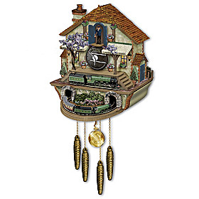 The Flying Scotsman Memories Of Steam Cuckoo Clock