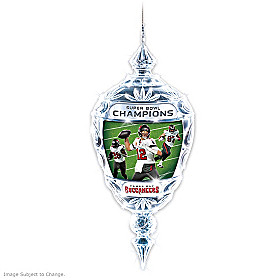 Tampa Bay Buccaneers Super Bowl LV Champions Ornament