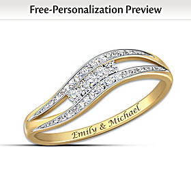 Enchantment Personalized Diamond Ring