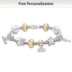 Head Of The Class Personalized Bracelet