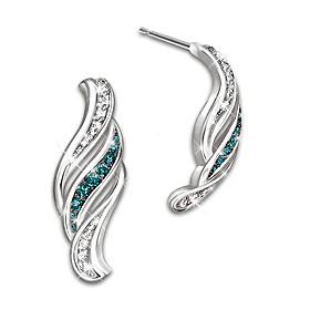 Cascade Of Beauty Diamond Earrings