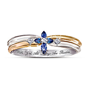 The Trinity Sapphire And Diamond Ring