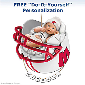 Wisconsin Badgers Baby's First Ornament