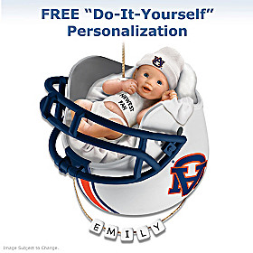 Auburn Tigers Baby's First Ornament