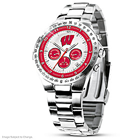 Wisconsin Badgers Men's Collector's Watch