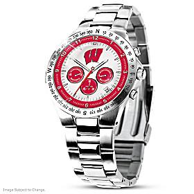 Wisconsin Badgers Men's Collector's Watch