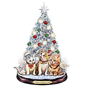 A Meow-y Christmas To All Tabletop Christmas Tree