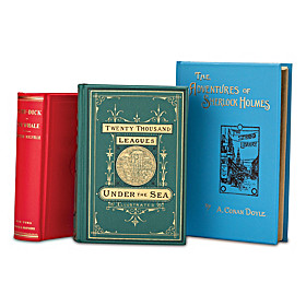 The 19th Century Adventure 3-Volume Replica Book Set