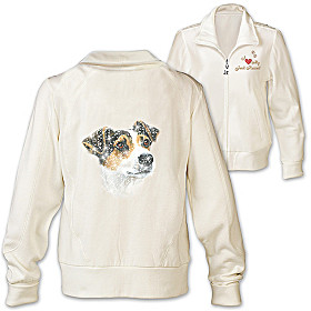 Doggone Cute Jack Russell Women's Jacket