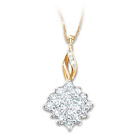 Diamond Delight Diamond Pendant Necklace