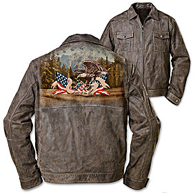 Land Of The Free Men's Jacket