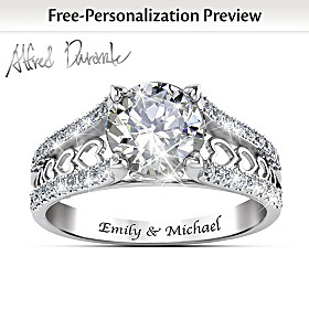One Love Personalized Ring