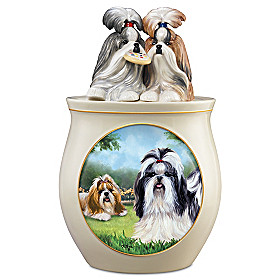 Cookie Capers: The Shih Tzu Cookie Jar
