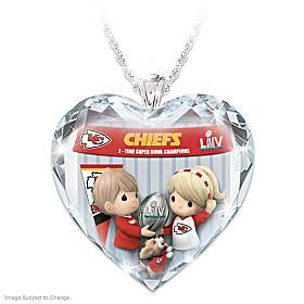 Go Chiefs! Pendant Necklace