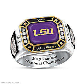 2019 Football National Champions LSU Ring