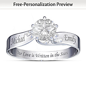 Written In The Stars Personalized Ring