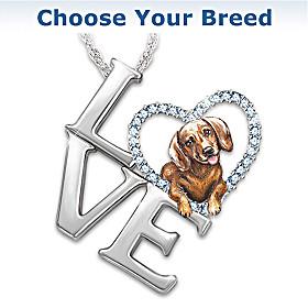 Loving Companion Pendant Necklace