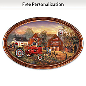 Family Tradition Personalized Collector Plate