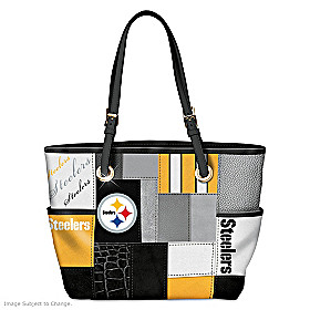 For The Love Of The Game Pittsburgh Steelers Tote Bag