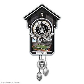 Las Vegas Raiders Cuckoo Clock