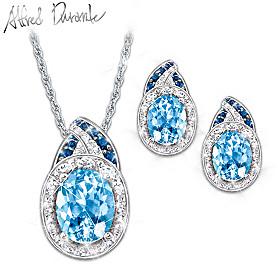 Rapture Pendant Necklace And Earrings Set