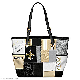 For The Love Of The Game New Orleans Saints Tote Bag