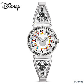 Disney Mickey Mouse Through The Years Women's Watch