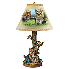 Youthful Yorkies Lamp