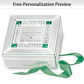 Irish Blessing Personalized Music Box