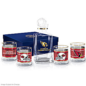 Arizona Cardinals Decanter Set