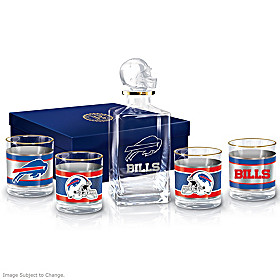 Buffalo Bills Decanter Set