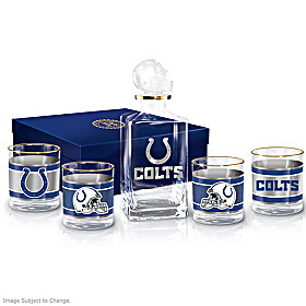 Indianapolis Colts Decanter Set