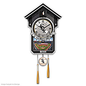 Chicago White Sox Cuckoo Clock