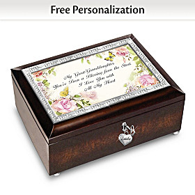 A Great-Granddaughter Is God's Greatest Blessing Music Box