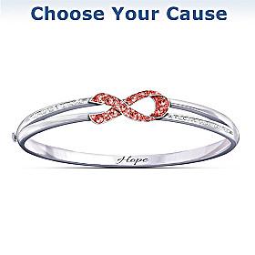 Ribbon Of Hope Bracelet