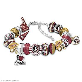 Fashionable Fan Florida State Seminoles Bracelet